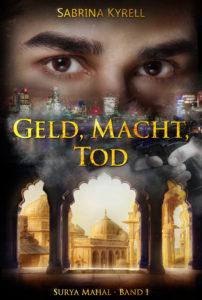 Cover des Indienthrillers Geld, Macht, Tod