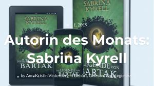 Autorin des Monats Sabrina Kyrell